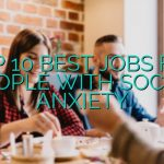 Top 10 Best Jobs For People With Social Anxiety